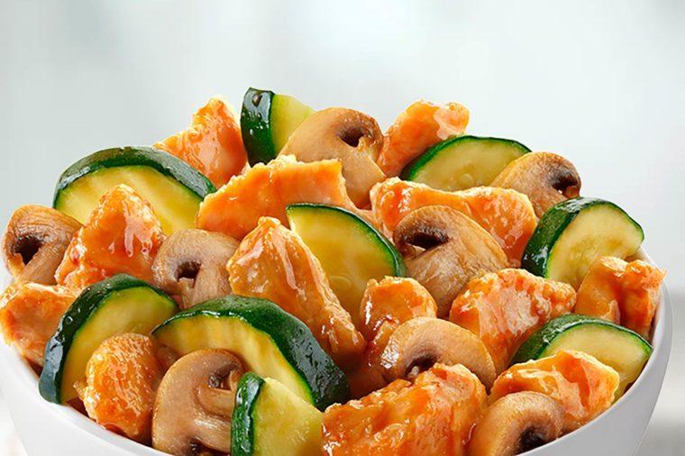 Mushroom Chicken dish from pandaexpress.com
