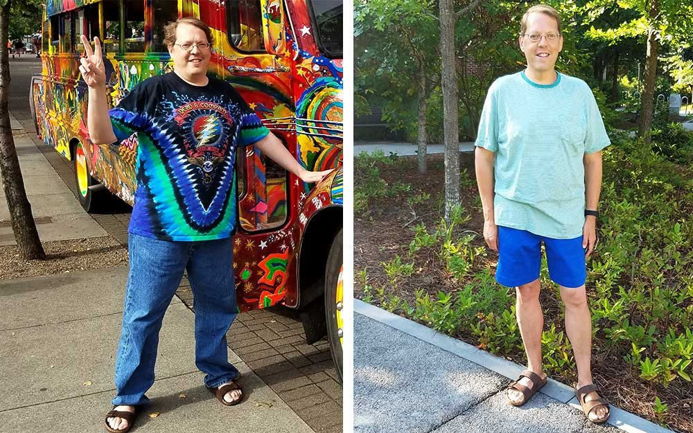 This Man Lost 50 Pounds Making One Simple Change