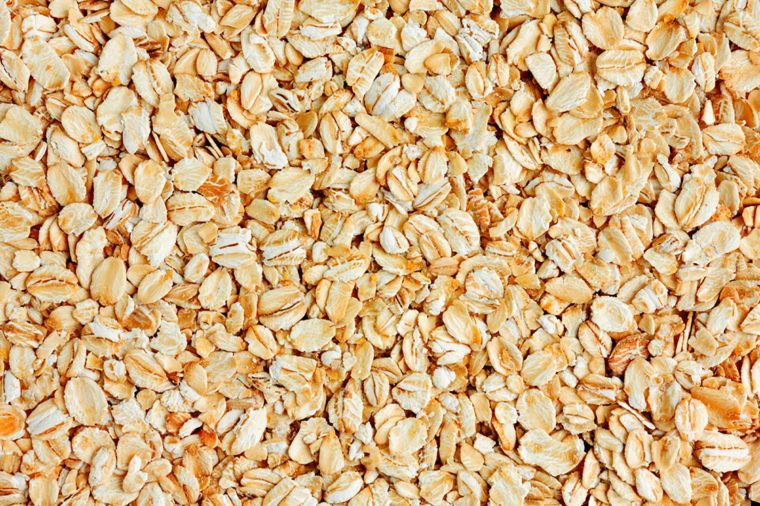 background of dried oats