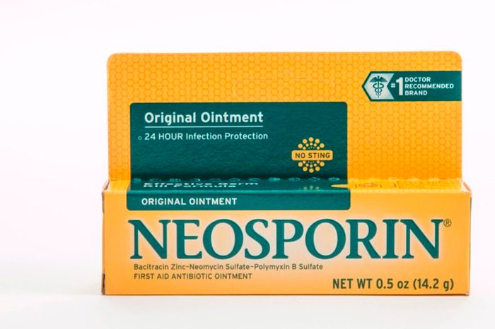 a package of Neosporin