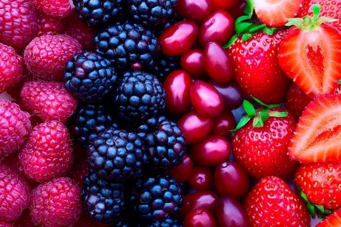 varieties of berries