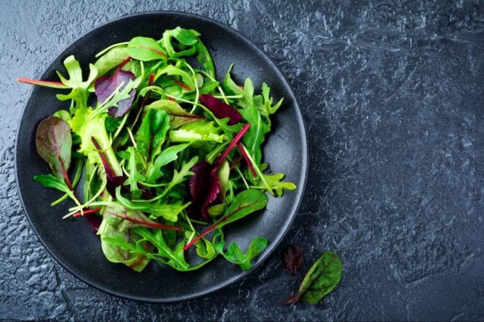 10-salad greens-Simple Things You Can Do Daily to Boost Your Bones_Katarzyna Hurova