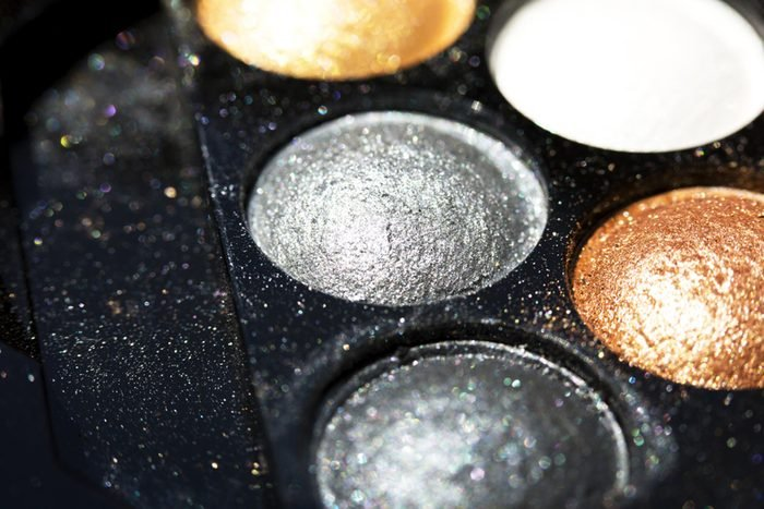 collection of different shades of makeup