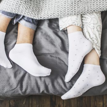 If You Don't Sleep with Socks On, Here's Why You Should Start Tonight