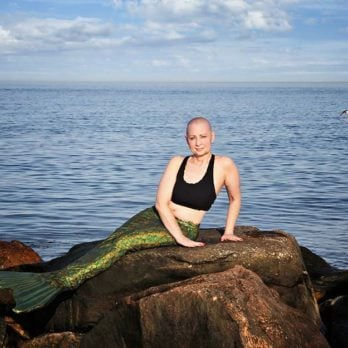 Why This Woman With Metastatic Breast Cancer Posed as a Mermaid