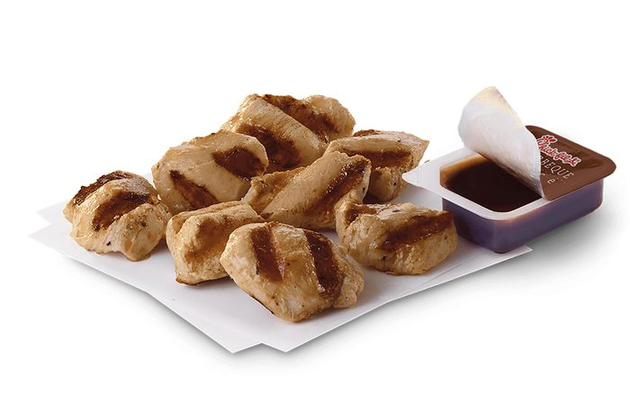 Chick-fil-A grilled chicken nuggets.