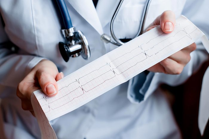 doctor holding printout