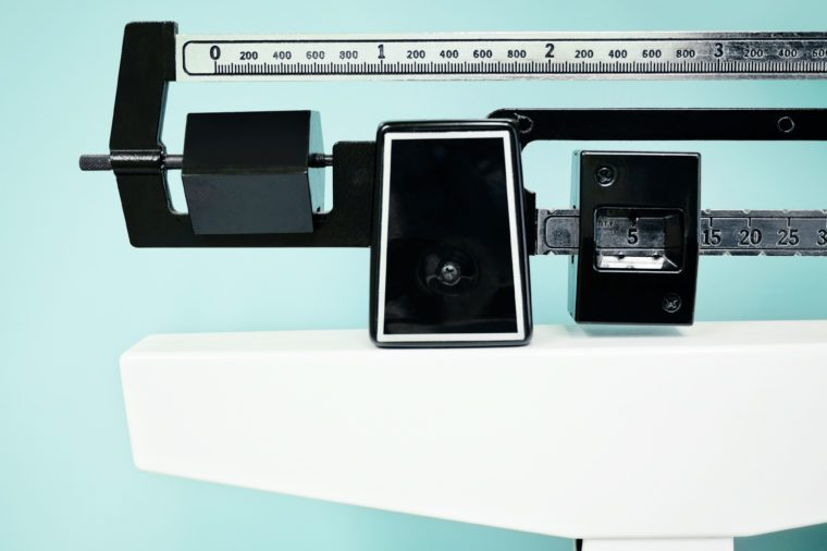 weight scale obesity breast cancer