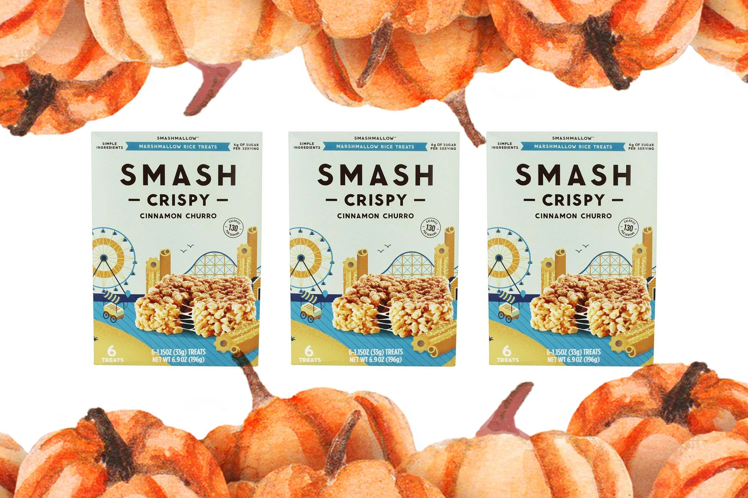 Smash Crispy treats