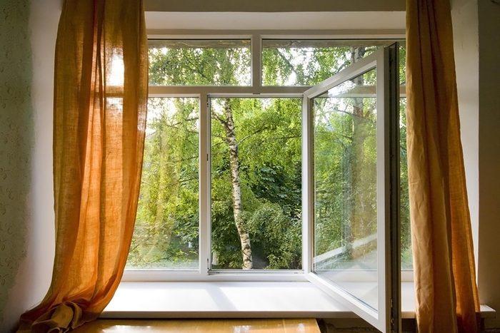 Window opened