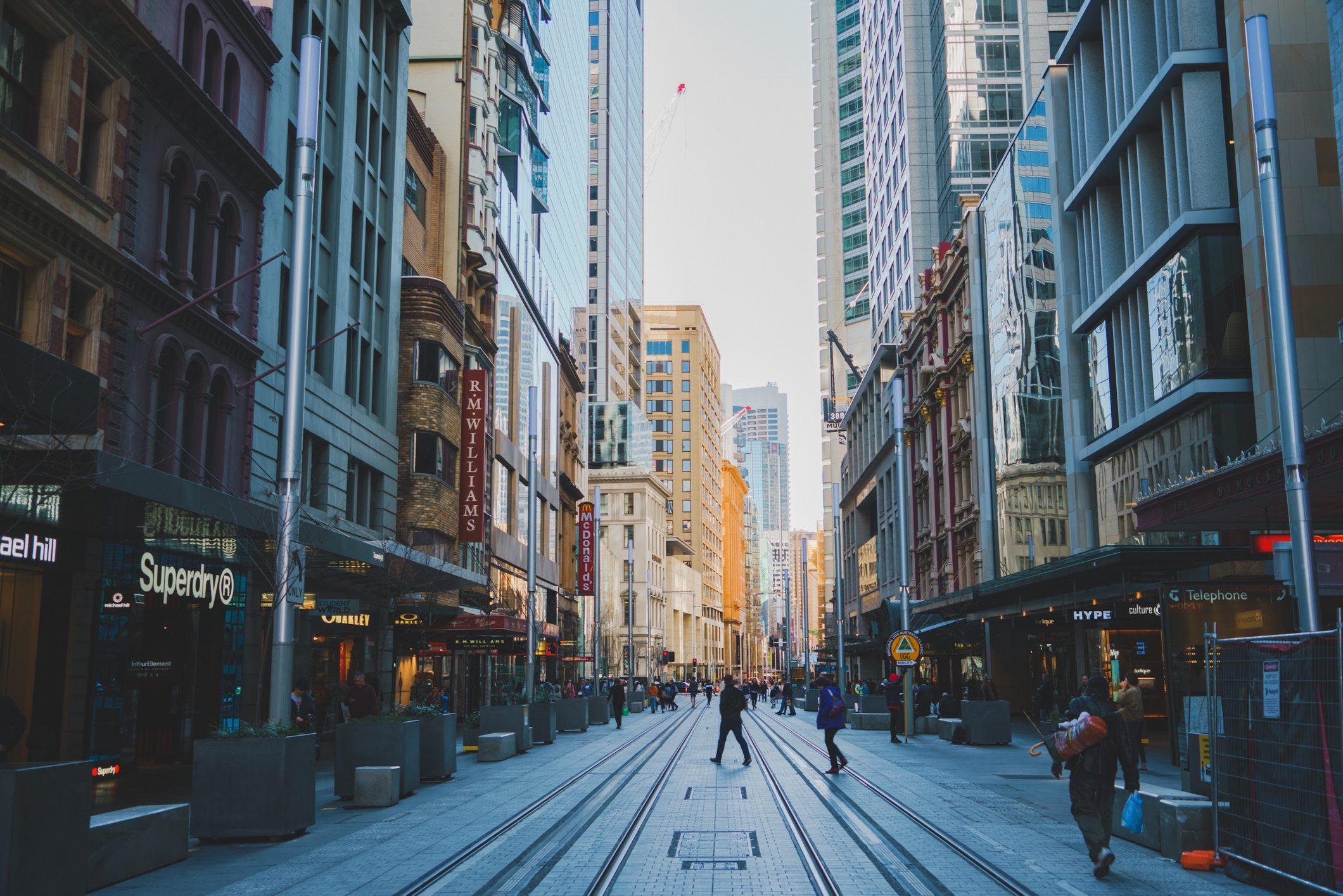 city street view