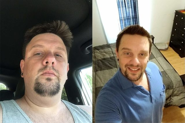 Matthew Parrow Eckeard, before and after
