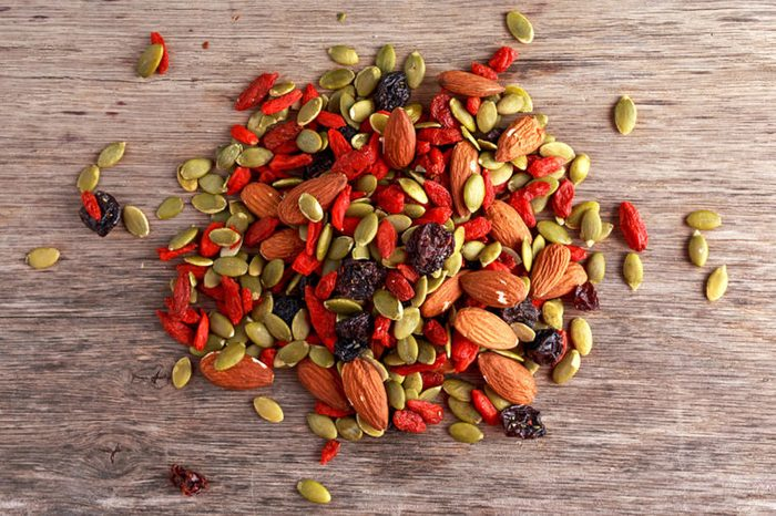 Goji berry trail mix