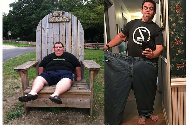 Karl Burr, before and after