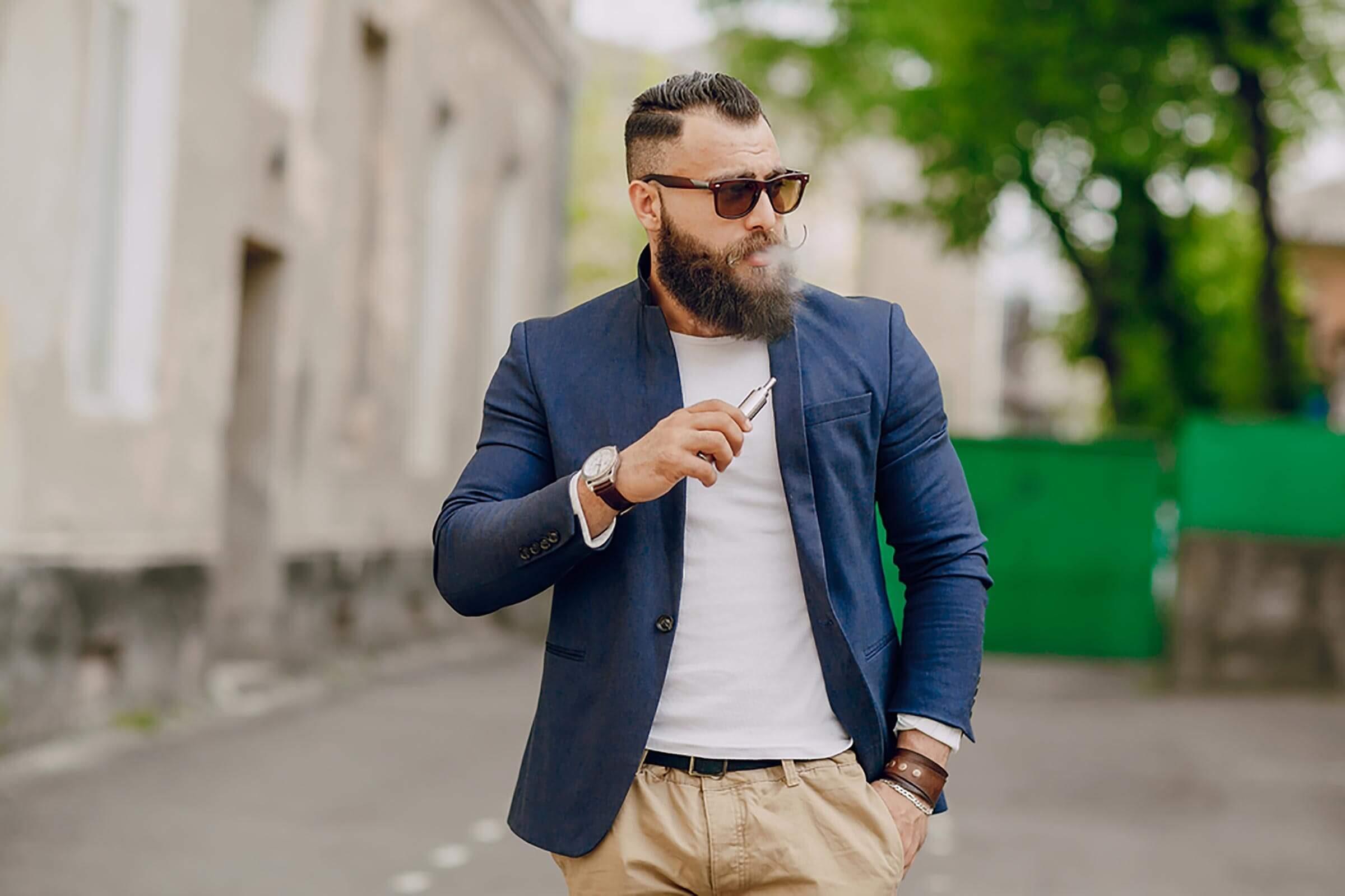 Hipster-smoking