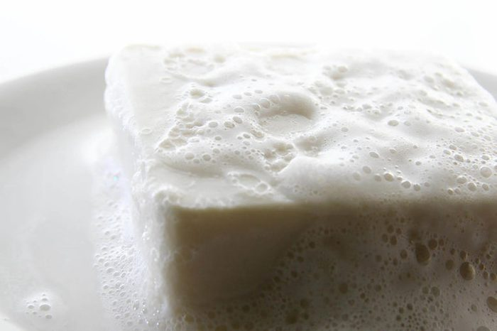 foaming bar of soap
