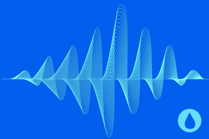 illustration of sound waves
