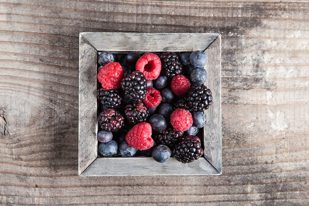 berries in a bowl