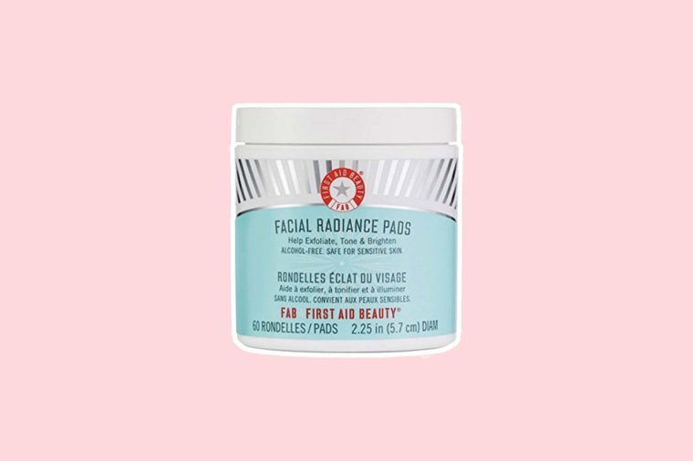 Facial Radiance Pads bottle
