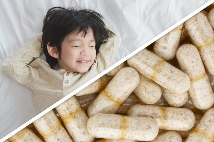 boy; capsules