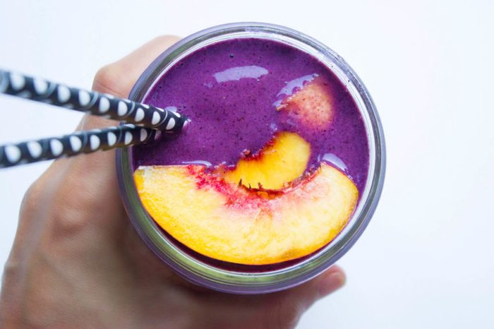 blueberry peach Smoothie