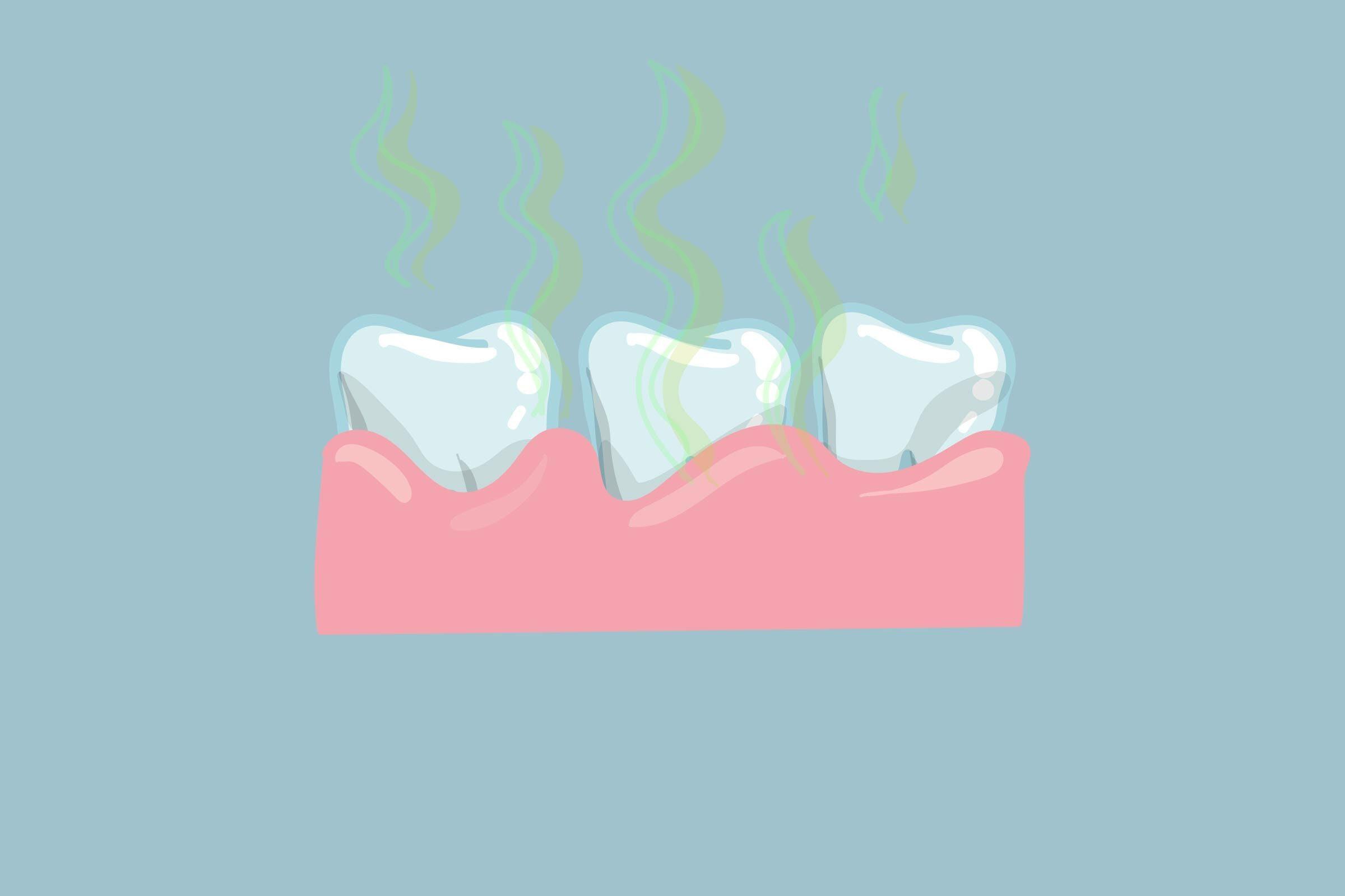 bad breath teeth