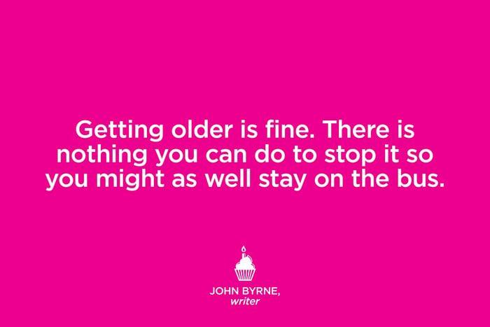 Writer John Byrne.