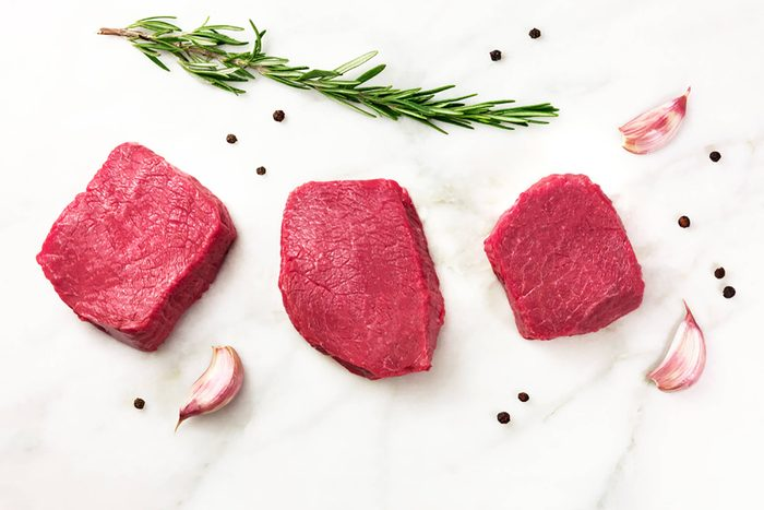 Red-meat; countries with lowest heart disease