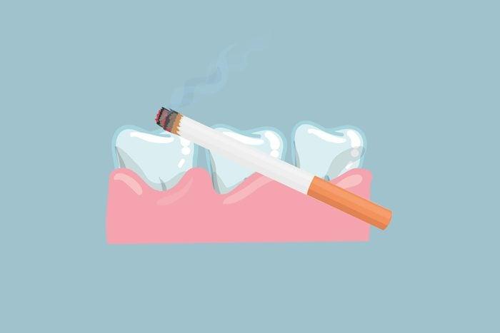 smoking gum disease