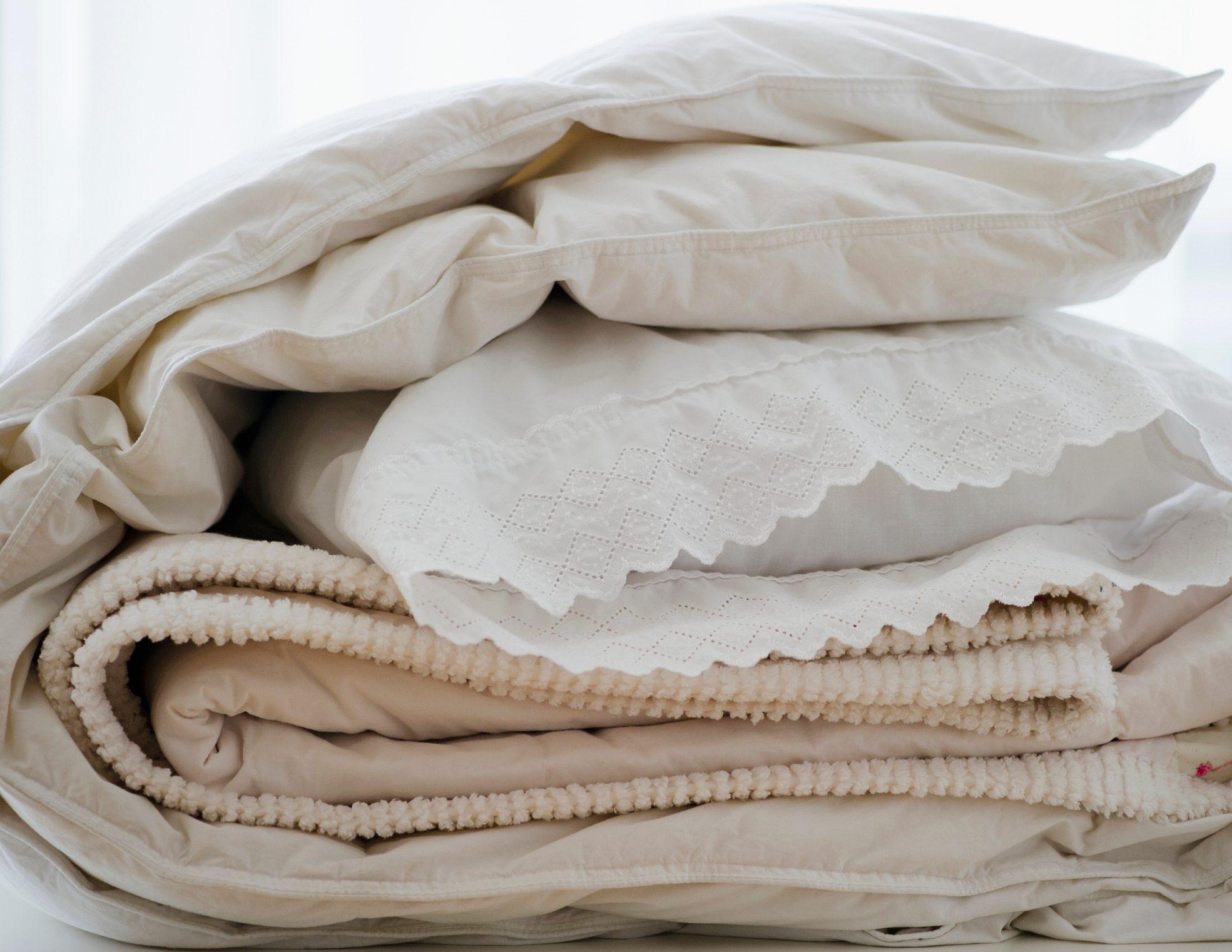 folded bedding