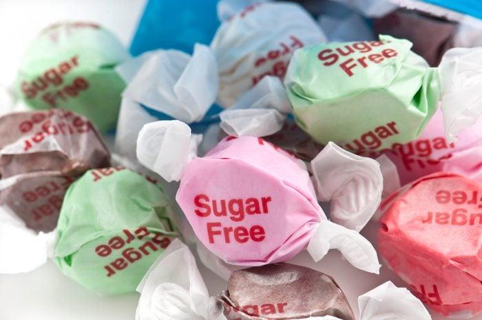 sugar free taffy candy