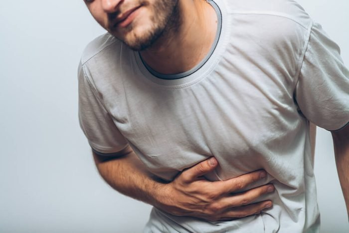 Stomach pain in men