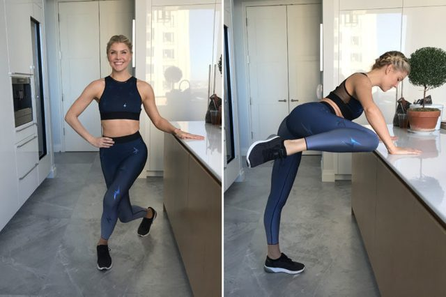 curtsy counter lift exercise