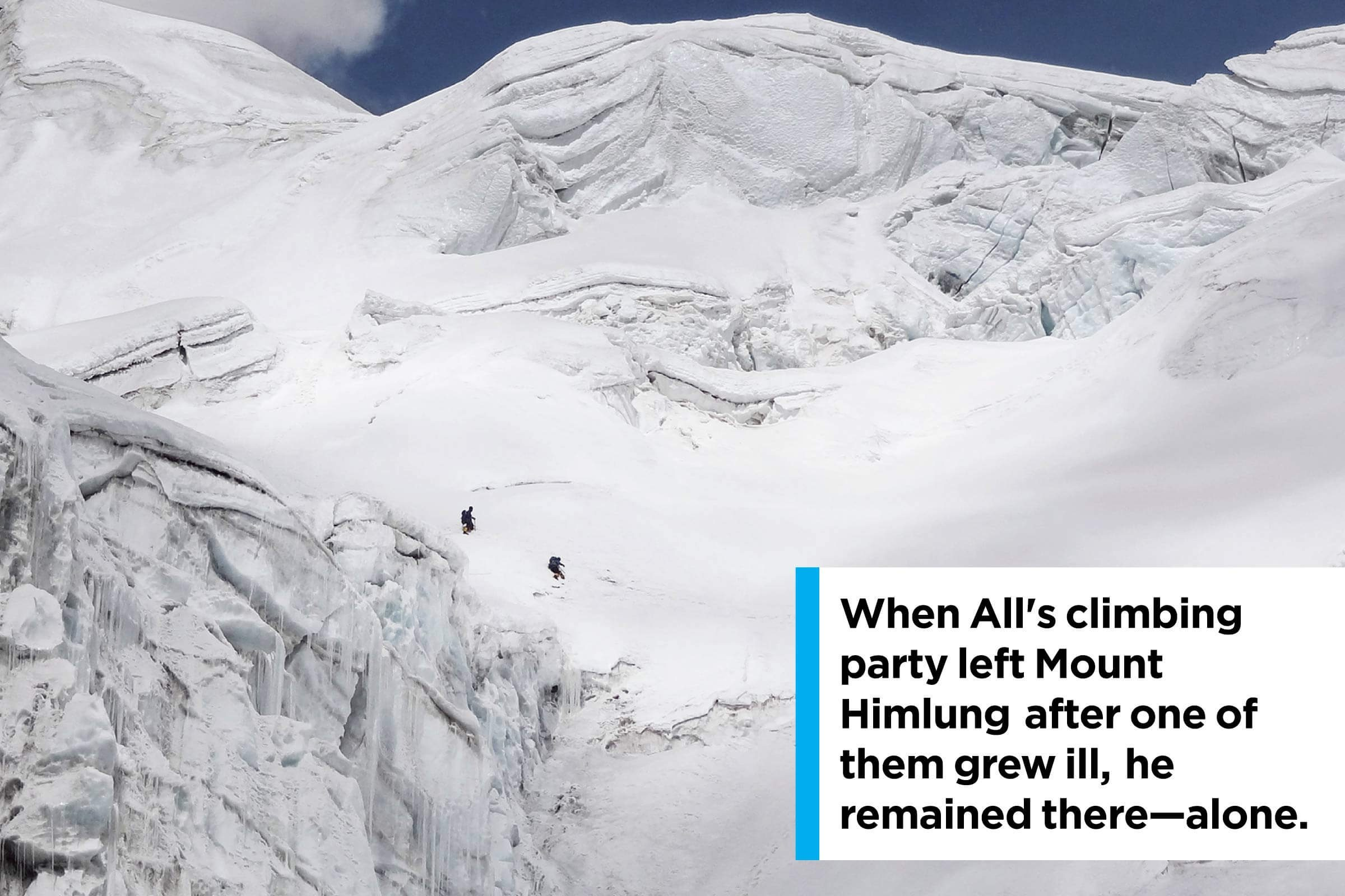 All's climbing party