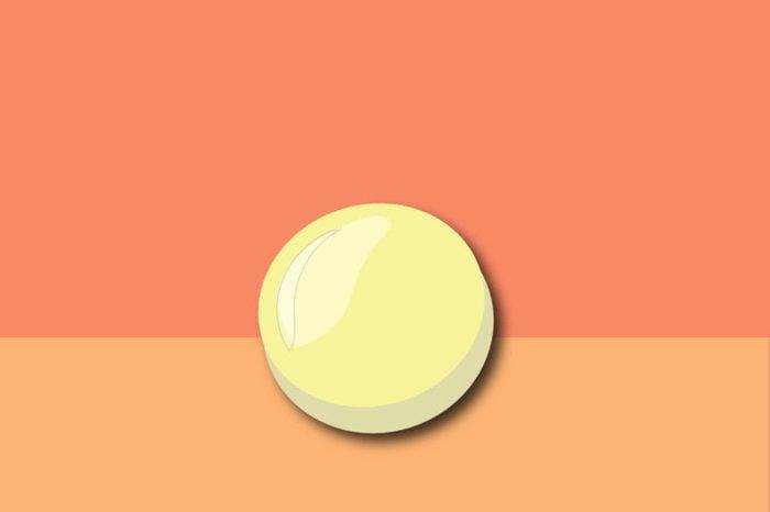 illustration of a vitamin B12 supplement