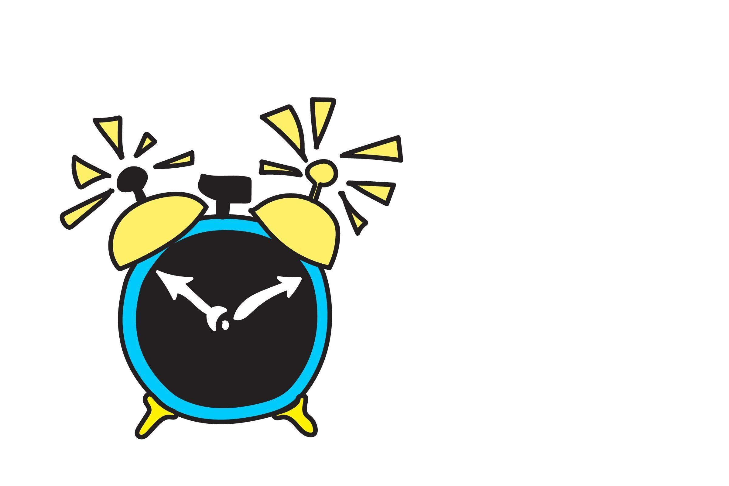 illustration alarm clock