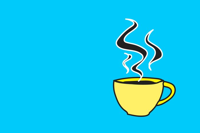 illustration cup of coffee
