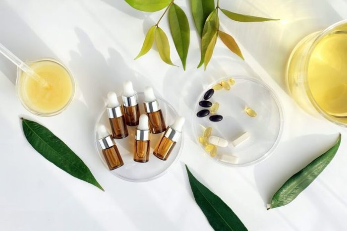 Essential oils and supplements
