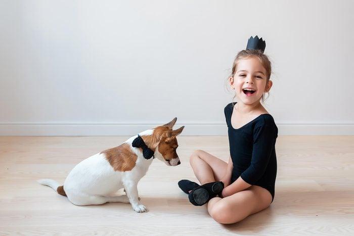 little girl dog