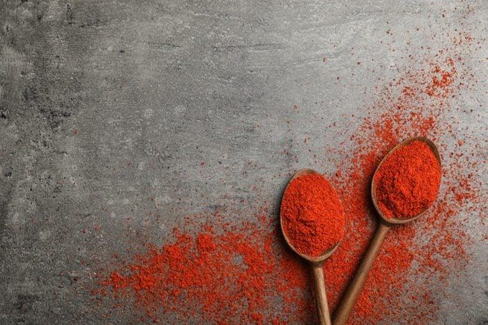 Powdered chili pepper