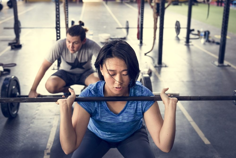 Active People Sport Workout Concept