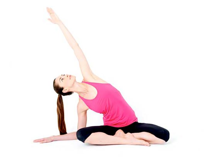 Simple Seated Side Bend