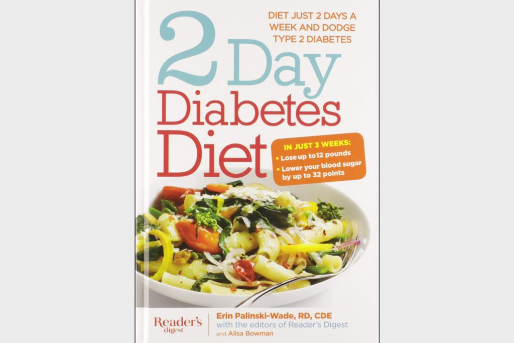2 day diabetes diet book by erin palinski