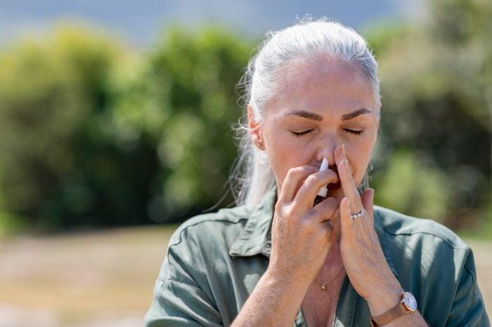 spring allergies nasal spray