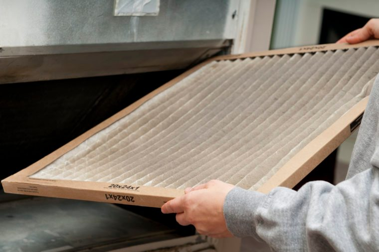 home furnace air filter