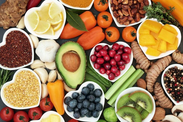 nutritional and healthy foods