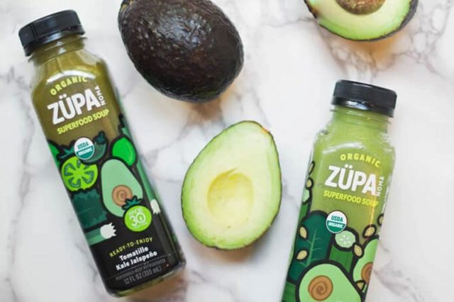 Zupa Superfood Soup bottles