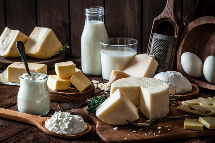 milk and cheese products