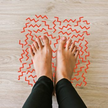 Paresthesia: This Is What Happens When Your Foot Falls Asleep
