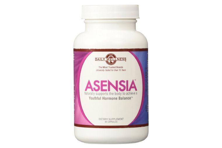 Bottle of Asensia vitamins